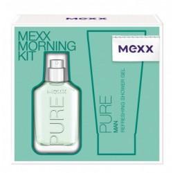 Набор Mexx Morning Kit Pure Man (30ml edt+50ml s/g)