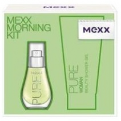 Набор Mexx Morning Kit Pure Woman (15ml edt+50ml s/g)