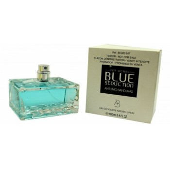 Antonio Banderas Blue Seduction for Women 100мл (тестер) - РАСПРОДАЖА