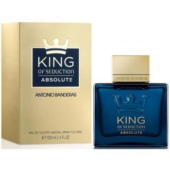 Antonio Banderas King of Seduction Absolute 50мл оригинал